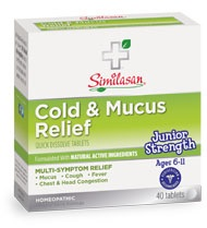 Image of Junior Strength Cold & Mucus Relief Tablet