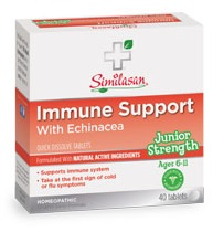 Image of Junior Strength Echinacea Immune Support Tablet