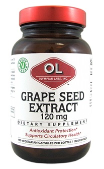 Image of Grape Seed Extract 120 mg