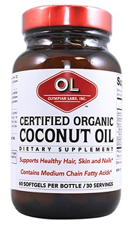 Image of Coconut Oil Softgel Certified Organic