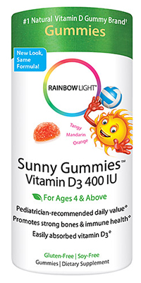 Image of Vitamin D Sunny Gummies 400 IU