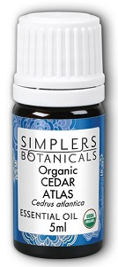 Image of Essential Oil Cedar Atlas Organic