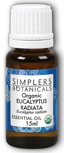Image of Essential Oil Eucalyptus Radiata Organic