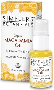 Image of Carrier Oil Organic Macadamia Oil