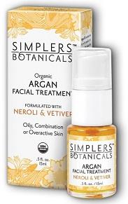 Image of Argan Facial Treatment Organic Neroli & Vetiver (for oily skin)