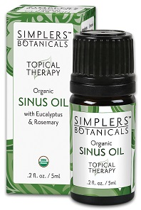 Image of Topical Therapy Organic Sinus Oil