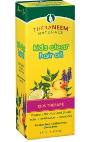 Image of TheraNeem Kid Therape Kid's Clear Hair Oil (for all hair types)