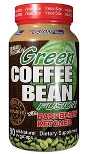 Image of Green Coffee Bean Fusion with Raspberry Ketone