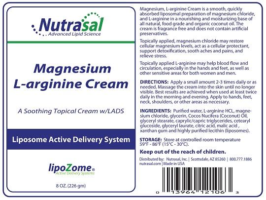 Image of Magnesium L-Arginine Liposome Cream