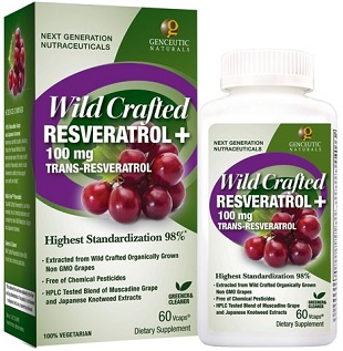 Image of Wild Crafted Resveratrol 100 mg