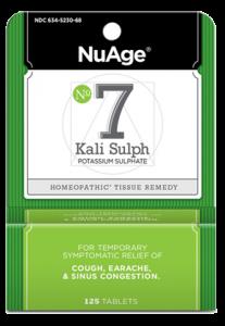Image of #7 Kali Sulph Potassium Sulphate