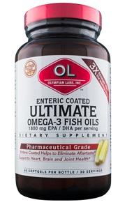 Image of Ultimate Omega-3 Fish Oils 1400 mg
