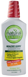 Image of Healthy Gums Antigingivitis Mouth Rinse Peppermint Twist