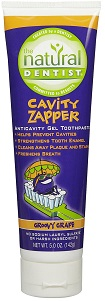 Image of Kids Cavity Zapper Fluoride Gel Toothpaste Groovy Grape