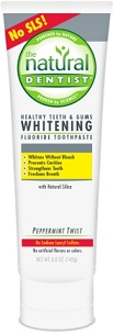Image of Healthy Teeth & Gum Whitening Fluoride Toothpaste Peppermint Twist