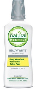 Image of Healthy White Pre-Brush Rinse Clean Mint