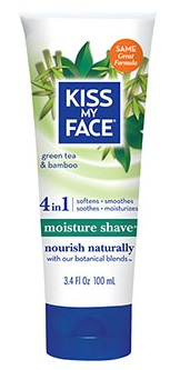 Image of 4 in 1 Green Tea & Bamboo Moisture Shave