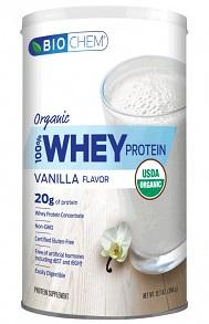 Image of Biochem 100% Whey Protein Powder ORGANIC Vanilla