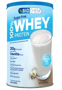 Image of Biochem 100% Whey Protein Powder SUGAR FREE Vanilla