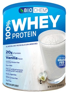 Image of Biochem 100% Whey Protein Powder Vanilla