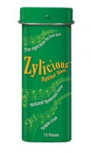 Image of Zylicious Xylitol Gum Spearmint