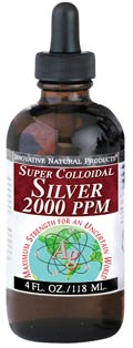 Image of Colloidal Silver Super 2,000 ppm