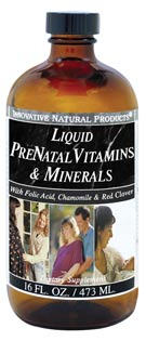 Image of Liquid PreNatal Vitamins & Minerals