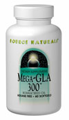 Image of Mega-GLA 300 Borage Seed Oil