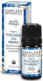 Image of Blend Therapy Focused and Aware (mental clarity blend)