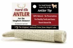 Image of Elk Antler Chews 4 in -Tips