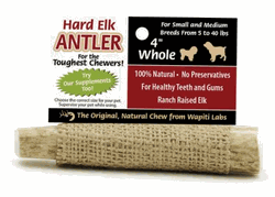 Image of Elk Antler Chews 4in Whole