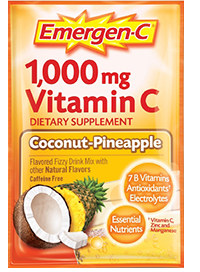 Image of Emergen-C Powder Packet Coconut-Pineapple