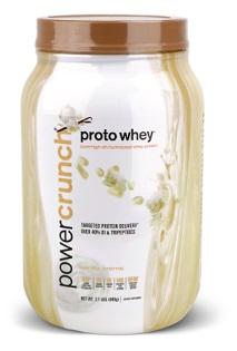 Image of Power Crunch Proto Whey Protein Powder Vanilla Creme