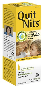 Image of Quit Nit Everyday Head Lice Preventative Spray