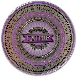 Image of PetGuard Catnip Organic Tin (Leaf & Flower)