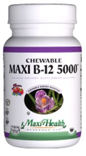 Image of Maxi B12 5000 Chewable