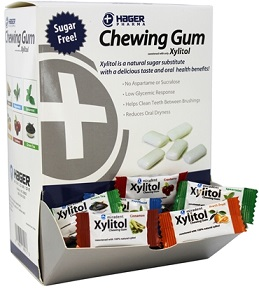 Image of Xylitol Chewing Gum Box Assorted Flavors