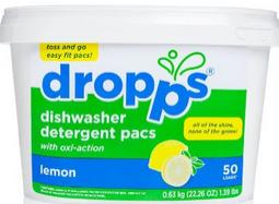 Image of Dishwasher Detergent Pacs Lemon