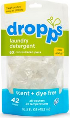 Image of Laundry Detergent Pacs Scent + Dye Free