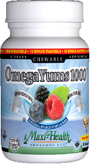 Image of Omega Yums 1000 Fruity