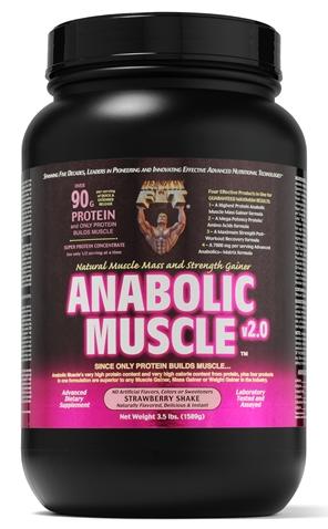Image of Anabolic Muscle Strawberry Powder