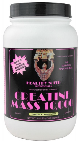 Image of Creatine Mass 10000 Vanilla Powder