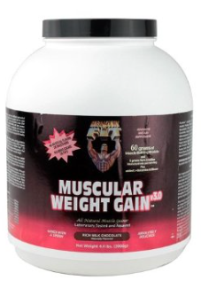 Image of Muscular Weight Gain 3 Chocolate Powder