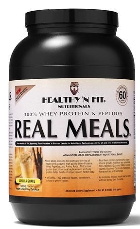 Image of Real Meals Vanilla Powder