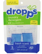 Image of Laundry Detergent Pacs Fresh Scent Trial Size