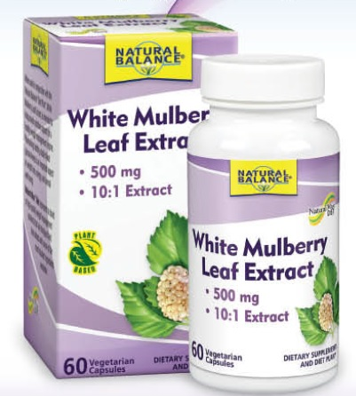 Image of White Mulberry Leaf Extract 500 MG