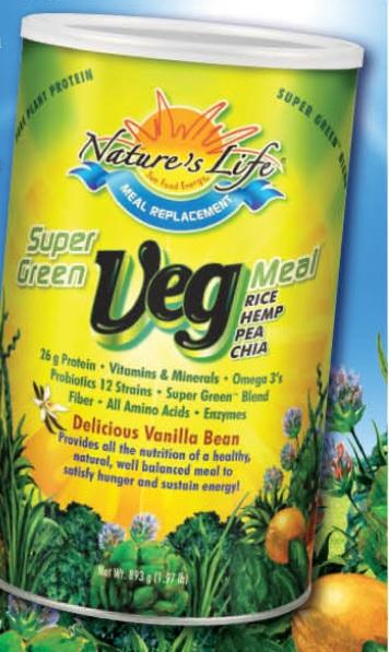 Image of Super Green Veg Meal