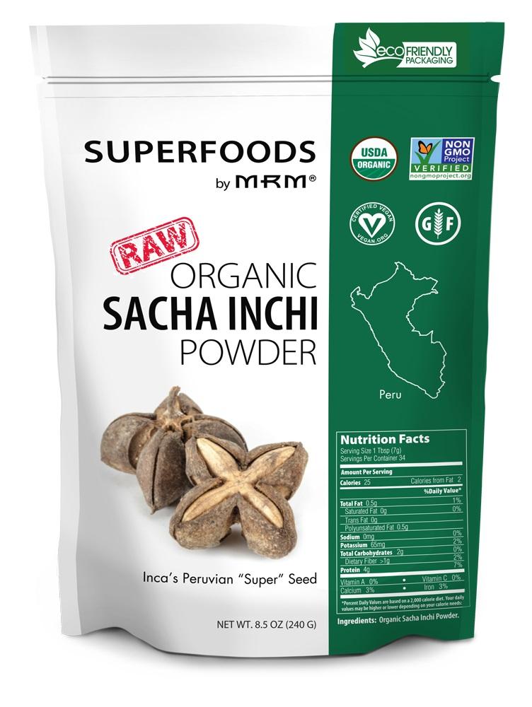 Image of Super Foods - Raw Organic Sacha Inchi Powder