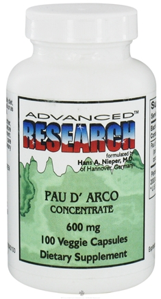 Image of Pau D Arco Concentrate 600mg