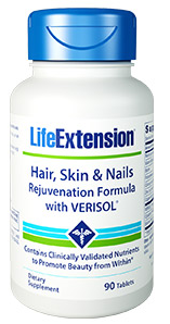 Image of Hair, Skin & Nails Rejuvenation Formula with VERISOL